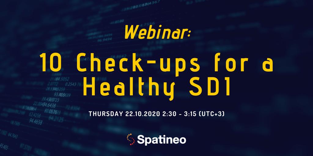 10 Check-ups for a Healthy SDI